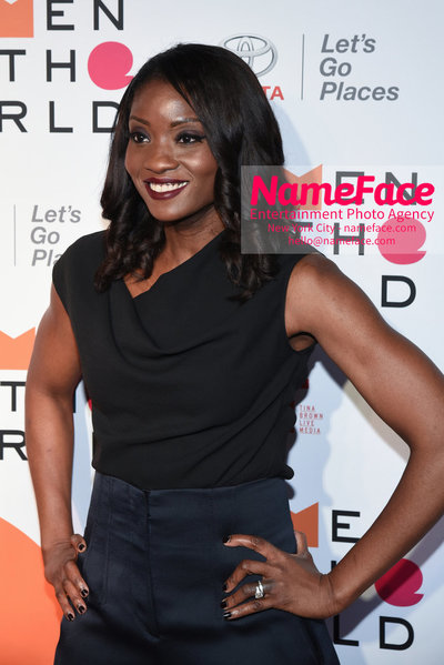 9th Annual Women in the World Summit, Arrivals Lola Ogunnaike - NameFace Photo Agency New York City - hello@nameface.com - nameface.com - Photo by Daniela Kirsch