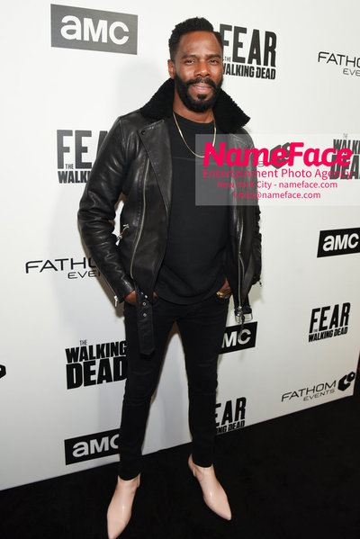 AMC Survival Sunday The Walking Dead / Fear the Walking Dead Colman Domingo - NameFace Photo Agency New York City - hello@nameface.com - nameface.com - Photo by Daniela Kirsch