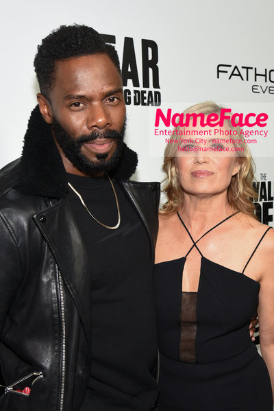 AMC Survival Sunday The Walking Dead / Fear the Walking Dead Colman Domingo and Kim Dickens - NameFace Photo Agency New York City - hello@nameface.com - nameface.com - Photo by Daniela Kirsch