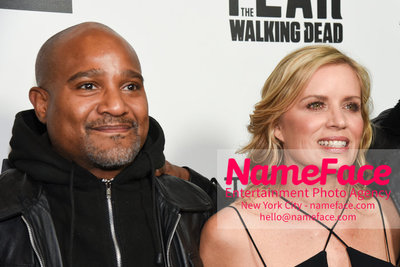 AMC Survival Sunday The Walking Dead / Fear the Walking Dead Seth Gilliam and Kim Dickens - NameFace Photo Agency New York City - hello@nameface.com - nameface.com - Photo by Daniela Kirsch