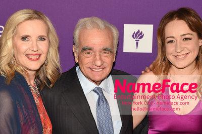 NYU Tisch School of the Arts 2018 Gala Allyson Green, Martin Scorsese and Eleanor Columbus - NameFace Photo Agency New York City - hello@nameface.com - nameface.com - Photo by Daniela Kirsch