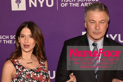 NYU Tisch School of the Arts 2018 Gala Hilaria Baldwin and Alec Baldwin - NameFace Photo Agency New York City - hello@nameface.com - nameface.com - Photo by Daniela Kirsch