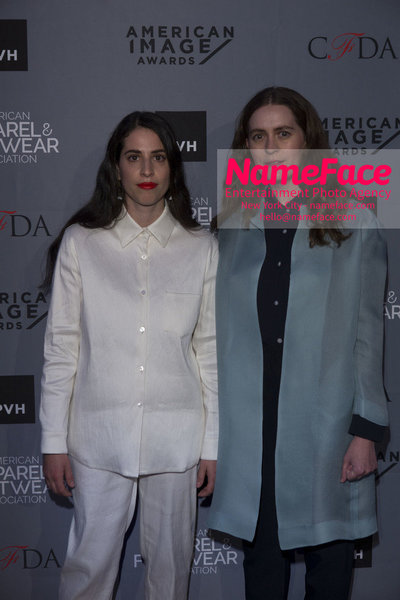 2O18 AAFA AMERICAN IMAGE AWARDS American Apparel & Footwear Associations 40th Annual American lmage Awards Floriana Gavriel and Rachel Mansur - NameFace Photo Agency New York City - hello@nameface.com - nameface.com - Photo by