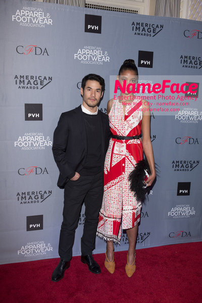 2O18 AAFA AMERICAN IMAGE AWARDS American Apparel & Footwear Associations 40th Annual American lmage Awards Joseph Altuzarra and Aya Jones - NameFace Photo Agency New York City - hello@nameface.com - nameface.com - Photo by