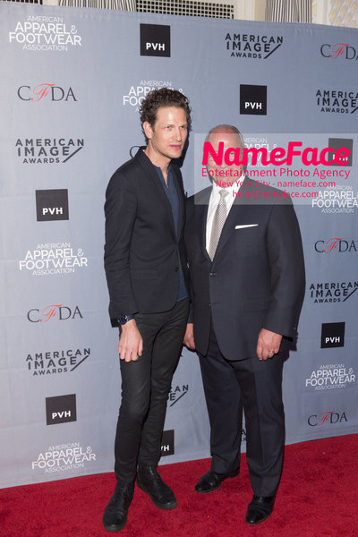 2O18 AAFA AMERICAN IMAGE AWARDS American Apparel & Footwear Associations 40th Annual American lmage Awards Uri Minkoff and Alex Del Cielo - NameFace Photo Agency New York City - hello@nameface.com - nameface.com - Photo by
