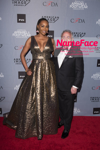 2O18 AAFA AMERICAN IMAGE AWARDS American Apparel & Footwear Associations 40th Annual American lmage Awards Cynthia Bailey and Rick Helfenbein - NameFace Photo Agency New York City - hello@nameface.com - nameface.com - Photo by