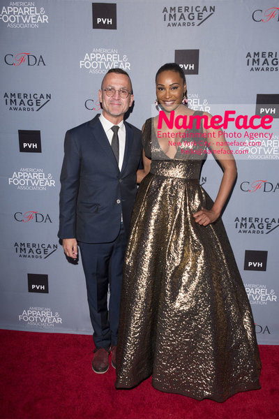 2O18 AAFA AMERICAN IMAGE AWARDS American Apparel & Footwear Associations 40th Annual American lmage Awards Steven Kolb and Cynthia Bailey - NameFace Photo Agency New York City - hello@nameface.com - nameface.com - Photo by