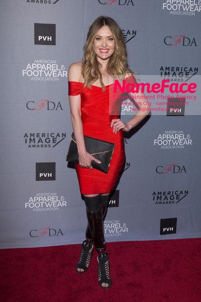 2O18 AAFA AMERICAN IMAGE AWARDS American Apparel & Footwear Associations 40th Annual American lmage Awards Amy Purdy - NameFace Photo Agency New York City - hello@nameface.com - nameface.com - Photo by