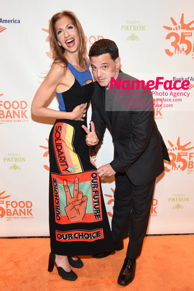 Food Bank For New York City's Can Do Awards Dinner - Arrivals Alysia Reiner and David Alan Basche - NameFace Photo Agency New York City - hello@nameface.com - nameface.com - Photo by Daniela Kirsch