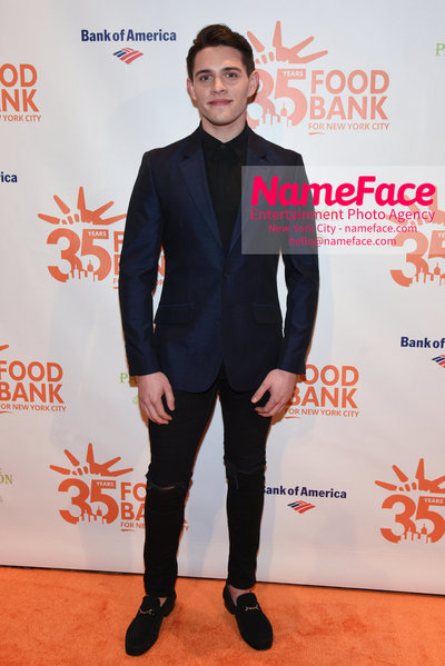 Food Bank For New York City's Can Do Awards Dinner - Arrivals Casey Cott - NameFace Photo Agency New York City - hello@nameface.com - nameface.com - Photo by Daniela Kirsch