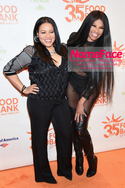 Food Bank For New York City's Can Do Awards Dinner - Arrivals Cheryl James and Sandra Denton of Salt-N-Pepa - NameFace Photo Agency New York City - hello@nameface.com - nameface.com - Photo by Daniela Kirsch