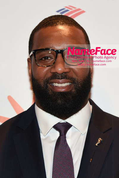 Food Bank For New York City's Can Do Awards Dinner - Arrivals Chris Canty - NameFace Photo Agency New York City - hello@nameface.com - nameface.com - Photo by Daniela Kirsch
