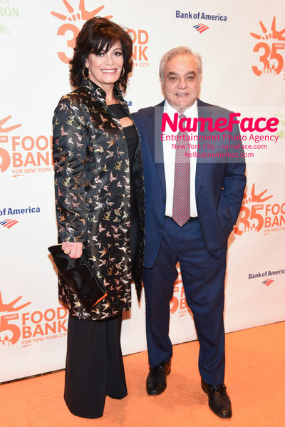 Food Bank For New York City's Can Do Awards Dinner - Arrivals Connie Verducci and Lee Schrager - NameFace Photo Agency New York City - hello@nameface.com - nameface.com - Photo by Daniela Kirsch