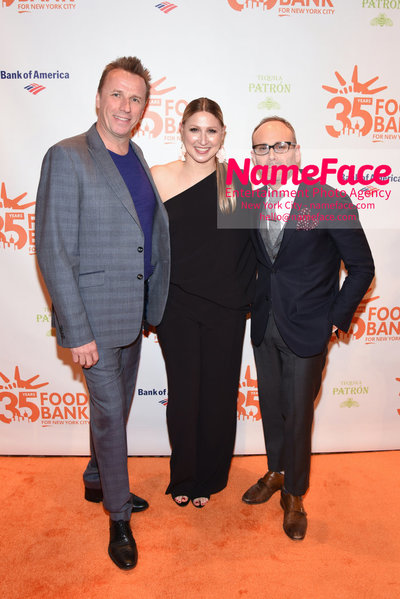 Food Bank For New York City's Can Do Awards Dinner - Arrivals Marc Murphy, Jodisue Rosen and Scott R. Feldman - NameFace Photo Agency New York City - hello@nameface.com - nameface.com - Photo by Daniela Kirsch