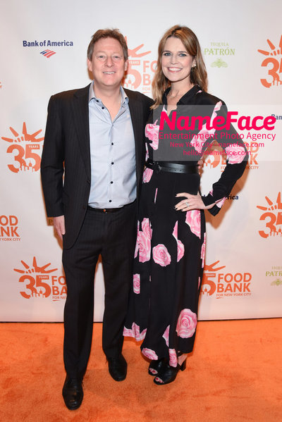 Food Bank For New York City's Can Do Awards Dinner - Arrivals Michael Feldman and Savannah Guthrie - NameFace Photo Agency New York City - hello@nameface.com - nameface.com - Photo by Daniela Kirsch