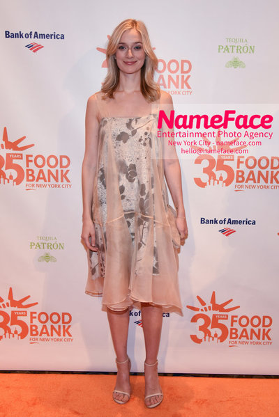 Food Bank For New York City's Can Do Awards Dinner - Arrivals Caitlin Fitzgerald - NameFace Photo Agency New York City - hello@nameface.com - nameface.com - Photo by Daniela Kirsch