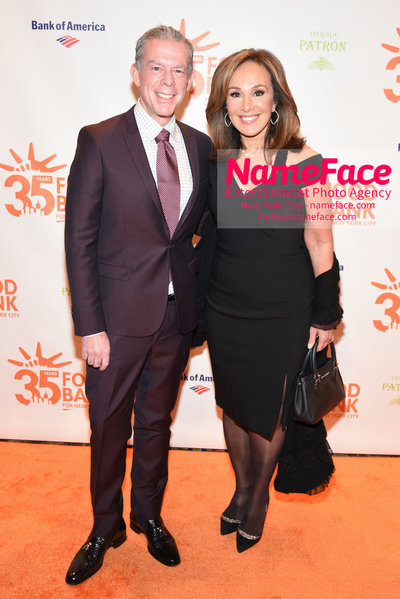 Food Bank For New York City's Can Do Awards Dinner - Arrivals Elvis Duran and Rosanna Scotto - NameFace Photo Agency New York City - hello@nameface.com - nameface.com - Photo by Daniela Kirsch