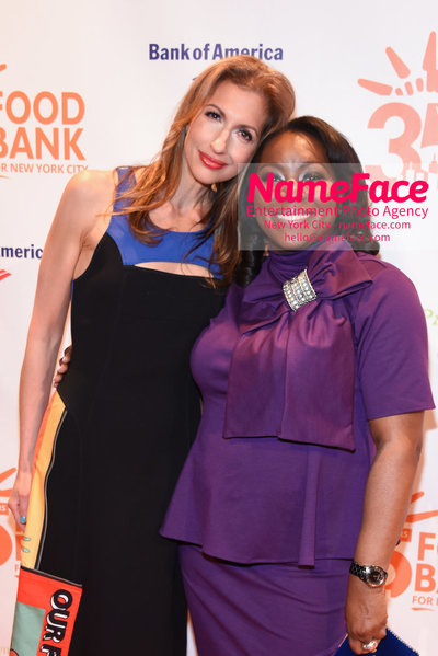 Food Bank For New York City's Can Do Awards Dinner - Arrivals Alysia Reiner and Margarette Purvis - NameFace Photo Agency New York City - hello@nameface.com - nameface.com - Photo by Daniela Kirsch