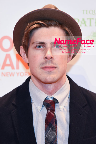 Food Bank For New York City's Can Do Awards Dinner - Arrivals Chris Lowell - NameFace Photo Agency New York City - hello@nameface.com - nameface.com - Photo by Daniela Kirsch