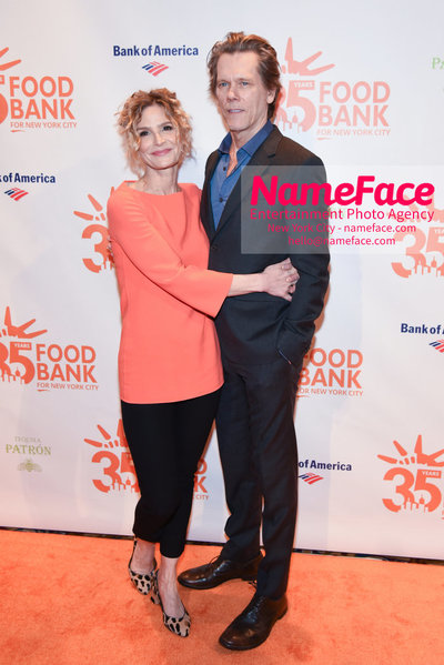 Food Bank For New York City's Can Do Awards Dinner - Arrivals Kyra Sedgwick and Kevin Bacon - NameFace Photo Agency New York City - hello@nameface.com - nameface.com - Photo by Daniela Kirsch