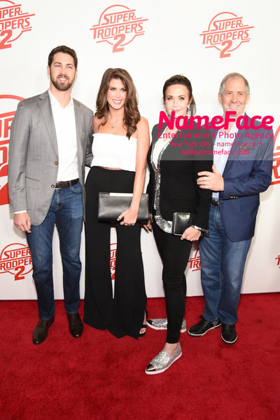 Super Troopers 2 Premiere James Altman, Jessica Altman, Lynda Carter and Guest - NameFace Photo Agency New York City - hello@nameface.com - nameface.com - Photo by Daniela Kirsch