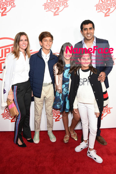 Super Troopers 2 Premiere Jay Chandrasekhar and family - NameFace Photo Agency New York City - hello@nameface.com - nameface.com - Photo by Daniela Kirsch