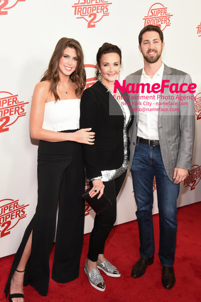 Super Troopers 2 Premiere Jessica Altman, Lynda Carter and James Altman - NameFace Photo Agency New York City - hello@nameface.com - nameface.com - Photo by Daniela Kirsch