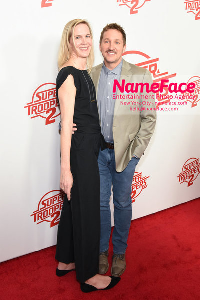 Super Troopers 2 Premiere Katherine Davidson and Paul Soter - NameFace Photo Agency New York City - hello@nameface.com - nameface.com - Photo by Daniela Kirsch