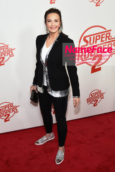 Super Troopers 2 Premiere Lynda Carter - NameFace Photo Agency New York City - hello@nameface.com - nameface.com - Photo by Daniela Kirsch