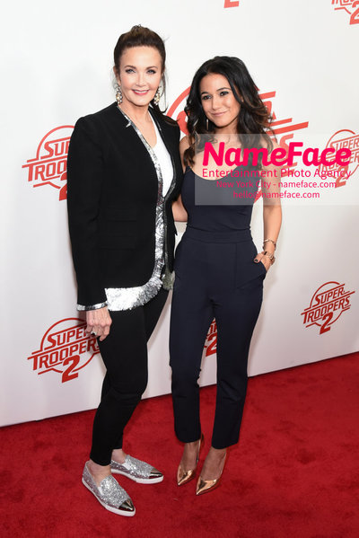 Super Troopers 2 Premiere Lynda Carter and Emmanuelle Chriqui - NameFace Photo Agency New York City - hello@nameface.com - nameface.com - Photo by Daniela Kirsch