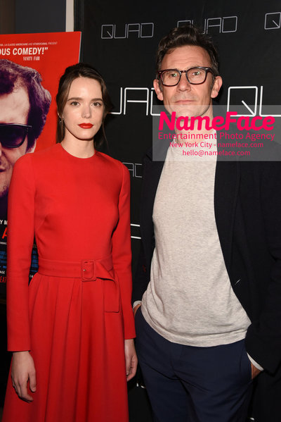 Cohen Media Group and The Cinema Society host the premiere of 'Godard Mon Amour' Stacy Martin and Michel Hazanavicius - NameFace Photo Agency New York City - hello@nameface.com - nameface.com - Photo by Daniela Kirsch