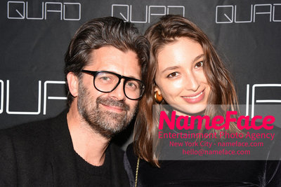 Cohen Media Group and The Cinema Society host the premiere of 'Godard Mon Amour' Chris Colls and Alexandra Agoston - NameFace Photo Agency New York City - hello@nameface.com - nameface.com - Photo by Daniela Kirsch