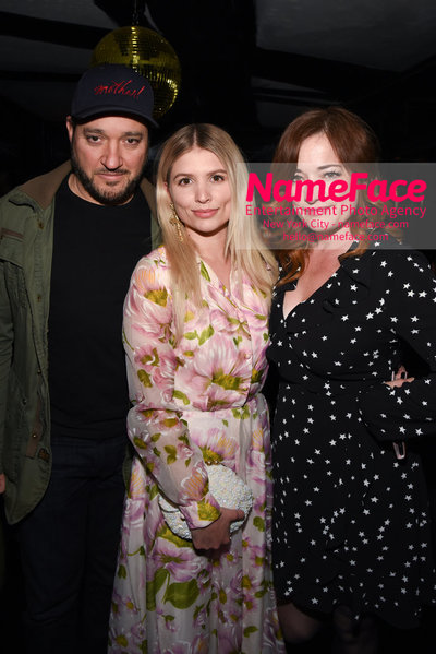 After Party - Cohen Media Group and The Cinema Society host the premiere of 'Godard Mon Amour' Gregg Bello, Jasmine Edwards  and Laura Michelle Kelly - NameFace Photo Agency New York City - hello@nameface.com - nameface.com - Photo by Daniela Kirsch