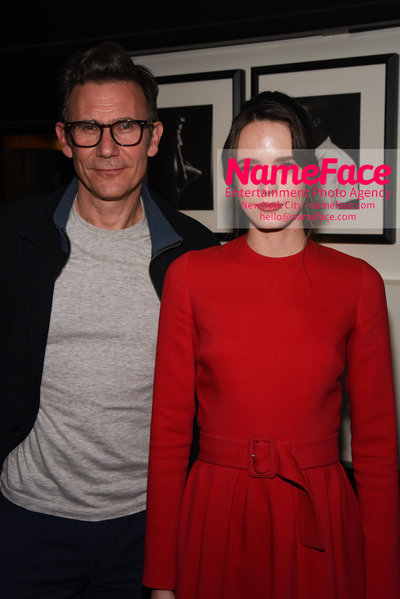 After Party - Cohen Media Group and The Cinema Society host the premiere of 'Godard Mon Amour' Michel Hazanavicius and Stacy Martin - NameFace Photo Agency New York City - hello@nameface.com - nameface.com - Photo by Daniela Kirsch