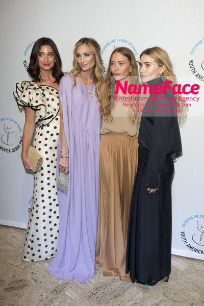 Stars of Today Meet the Stars of Tomorrow, the 2018 Youth America Grand Prix Gala Candice Miller, Marcella Guarino Hymowitz, Mary-Kate Olsen and Ashley Olsen - NameFace Photo Agency New York City - hello@nameface.com - nameface.com - Photo by