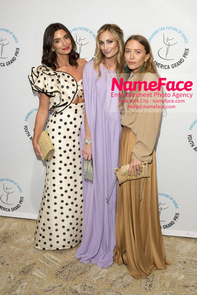 Stars of Today Meet the Stars of Tomorrow, the 2018 Youth America Grand Prix Gala Candice Miller, Marcella Guarino Hymowitz and Mary-Kate Olsen - NameFace Photo Agency New York City - hello@nameface.com - nameface.com - Photo by