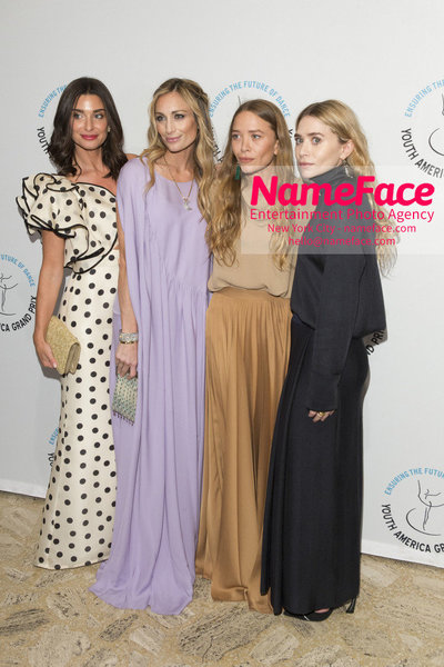 Stars of Today Meet the Stars of Tomorrow, the 2018 Youth America Grand Prix Gala Candice Miller, Marcella Guarino Hymowitz and Mary-Kate Olsen and Ashley Olsen - NameFace Photo Agency New York City - hello@nameface.com - nameface.com - Photo by