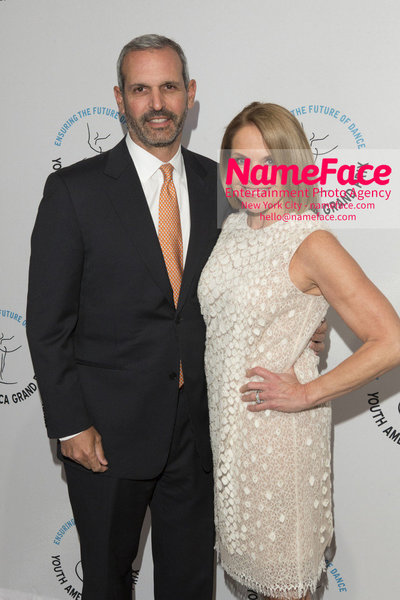 Stars of Today Meet the Stars of Tomorrow, the 2018 Youth America Grand Prix Gala John Molner and Katie Couric - NameFace Photo Agency New York City - hello@nameface.com - nameface.com - Photo by
