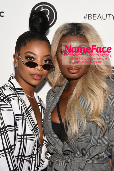 Beautycon 2018 Festival NYC - First Day Dearra Taylor and Shalom Blac - NameFace Photo Agency New York City - hello@nameface.com - nameface.com - Photo by Daniela Kirsch