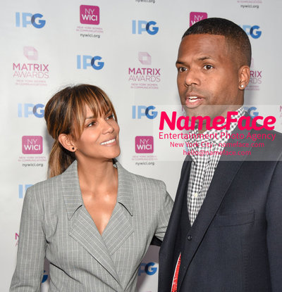 Matrix Awards 2018 Halle Berry and  and AJ Calloway - NameFace Photo Agency New York City - hello@nameface.com - nameface.com - Photo by Daniela Kirsch