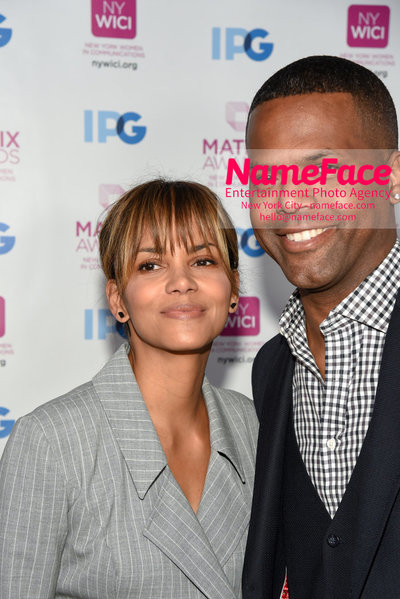Matrix Awards 2018 Halle Berry and AJ Calloway - NameFace Photo Agency New York City - hello@nameface.com - nameface.com - Photo by Daniela Kirsch