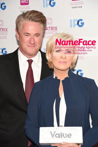 Matrix Awards 2018 Joe Scarborough and Mika Brzezinski - NameFace Photo Agency New York City - hello@nameface.com - nameface.com - Photo by Daniela Kirsch