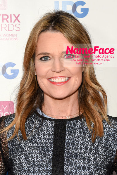 Matrix Awards 2018 Savannah Guthrie - NameFace Photo Agency New York City - hello@nameface.com - nameface.com - Photo by Daniela Kirsch