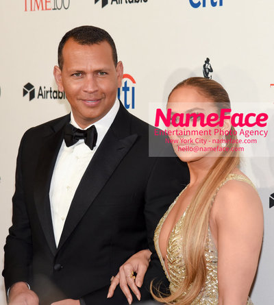 TIME 100 Gala 2018 Red Carpet Arrivals  Alex Rodriguez and Jennifer Lopez - NameFace Photo Agency New York City - hello@nameface.com - nameface.com - Photo by Daniela Kirsch