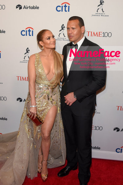 TIME 100 Gala 2018 Red Carpet Arrivals  Jennifer Lopez and Alex Rodriguez - NameFace Photo Agency New York City - hello@nameface.com - nameface.com - Photo by Daniela Kirsch