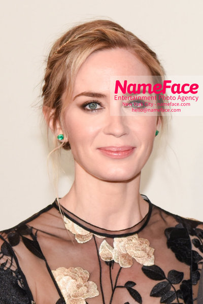 TIME 100 Gala 2018 Red Carpet Arrivals  Emily Blunt - NameFace Photo Agency New York City - hello@nameface.com - nameface.com - Photo by Daniela Kirsch