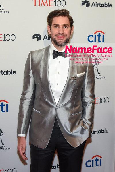 TIME 100 Gala 2018 Red Carpet Arrivals  John Krasinski - NameFace Photo Agency New York City - hello@nameface.com - nameface.com - Photo by Daniela Kirsch