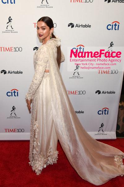 TIME 100 Gala 2018 Red Carpet Arrivals  Deepika Padukone - NameFace Photo Agency New York City - hello@nameface.com - nameface.com - Photo by Daniela Kirsch