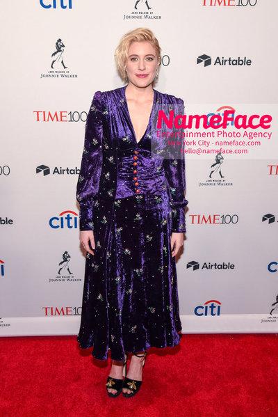 TIME 100 Gala 2018 Red Carpet Arrivals  Greta Gerwig - NameFace Photo Agency New York City - hello@nameface.com - nameface.com - Photo by Daniela Kirsch