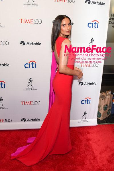 TIME 100 Gala 2018 Red Carpet Arrivals  Padma Lakshmi - NameFace Photo Agency New York City - hello@nameface.com - nameface.com - Photo by Daniela Kirsch